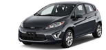 Rent a car in Copenhagen Ford Fiesta